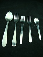 S1841 high quality stainless steel western cutlery fork spoon