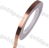 2 pcs/ 5MM X30M Copper foil tape Adhesive copper tape Shield Tape Single Conductive Film COPPER FOIL TAPE Strap