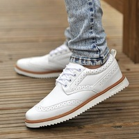 Trend breathable casual shoes base plate shoes men's summer genuine leather male casual leather fashion shoes male