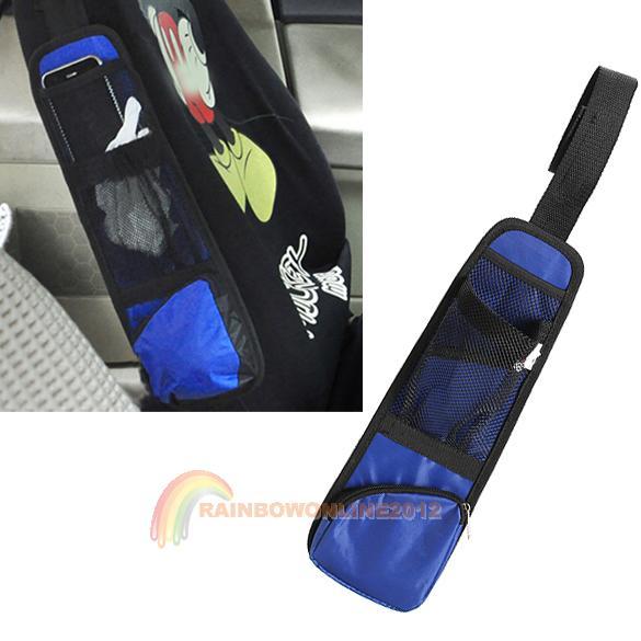 R1B1 Car Seat Chair Side Bag Organizer Collector Storage Multi-Pocket Hold Bag(China (Mainland))