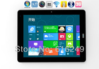 9.7 inch Windows 8 tablet pc Atom N2600 3G phone call Dual core 1.6GHz IPS Capacitive multi touch screen 2G 16G Internal 3G Sim