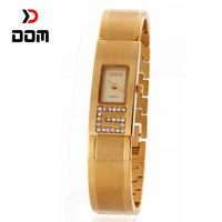 Ladies watch dom waterproof diamond vintage bracelet watch women's watch fashion table bracelet watch