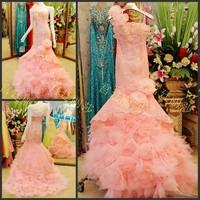 Ultimate luxury crystal formal dress formal dress toast the bride married formal dress evening dress xj01478
