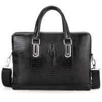 crocodile bags,men 's messenger bags,shoulder bags for men,fashion laptop bag,portfolio briefcases,z116