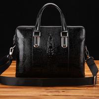 mens bags,crocodile pattern leather bags for men,new men's briefcase leather portfolios handbags,2013 fashion attache case,z121