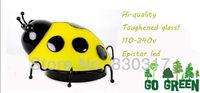 Free shipping/Novely/Korean-quality/Wall Light/Toughened Glass/Beetle design/ Epistar LED/110-240V/Metal plate/Kids wall light