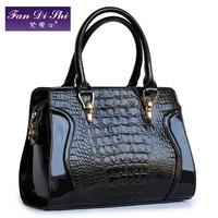 New 2013 fashion women PU leather handbags female smiley handbags one shoulder bag messenger bag free shipping