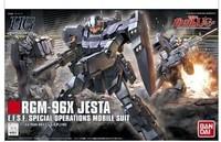 Free shipping 1/144 gundam Bandai HGUC 130 RGM-96X Jesta Valdosta Gundam