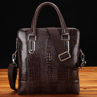crocodile pattern leather bags,men messenger bags brand, 2013 fashion handbag,cross body satchel bag,portfolio briefcases,z122