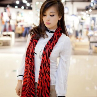 Quality 2013 women's faux leopard print scarf fashion zebra print summer large cape