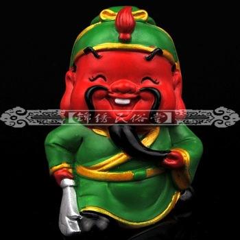Cochin decorations decoration car decoration office desk accessories guan gong