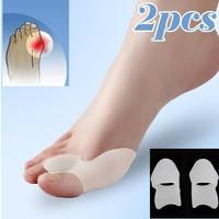2PCS Gel Toe Separators Stretchers Alignment Bunion Pain Relief