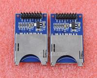 10PCS SD Card Module Slot Socket Reader Read And Write For Arduino ARM MCU