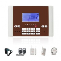 Wireless GSM Home Security Burglar Alarm System with Voice and Intercom