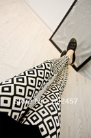 Потребительские товары spring and autumn women pants skinny pants patchwork ab side jeans female trousers