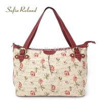 New 2014 Sofia Roland Rose series women's messenger bags women handbag classic   sr851-3  designers brand