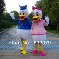 NEW Donald Duck and Daisy Duck CARTOON CLOTHING MASCOT COSTUME HALOWWEN