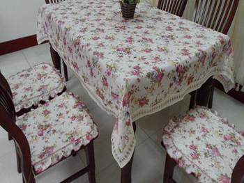 Rustic cloth floral print table cloth tablecloth dining table cloth table cloth gremial customize
