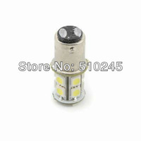 Free shipping 10x car led s25 p21/5W bay15d 1157 13 led smd 5050 13smd 3CHIPS brake stop light bulb lamp WHITE RED YELLOW