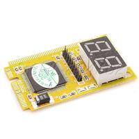 3 in 1 PCI/PCI-E LPC Laptop Notebook PC Diagnosis Analyzer Test Card Yellow