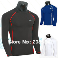 New Sexy Lines Leotard Fitness T-shirt Speed Drying training Clothes Long sleeve T-shirt Sports Suit  8360