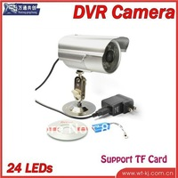 TF Card DVR camera Video recorder Outdoor waterproof infrared multifunction CCTV DVR Camera