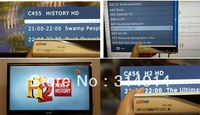 Wholesale 2pcs tnHD HDC-999 Singapore Set Top Box  can Watch EPL ,455 History HD And H2 HD Program