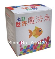 freeshipping 1pcs In Twenty-First Century the most Magical of Aquarium Fishes the most Amazing  Fish SOIL Add WATER Equal FISH