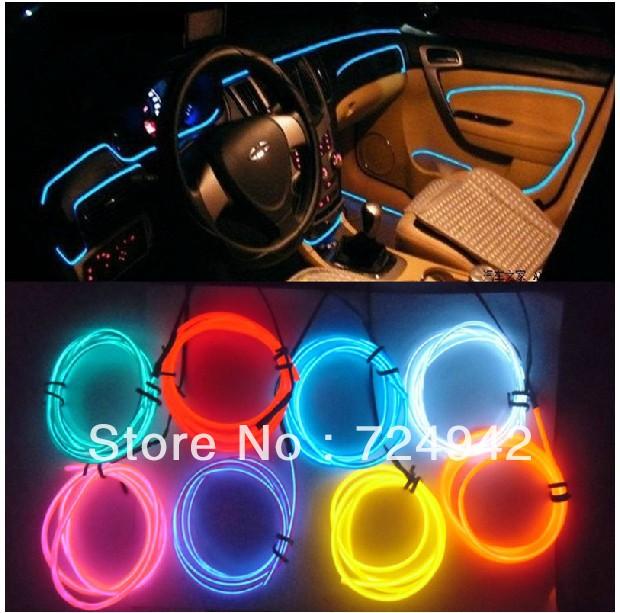 Popular car ambient light aliexpress - Neon decoration interieur ...