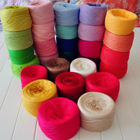 5 100% cotton yarn summer line crochet cotton thread crochet line four seasons cotton thread 100% line child cotton yarn