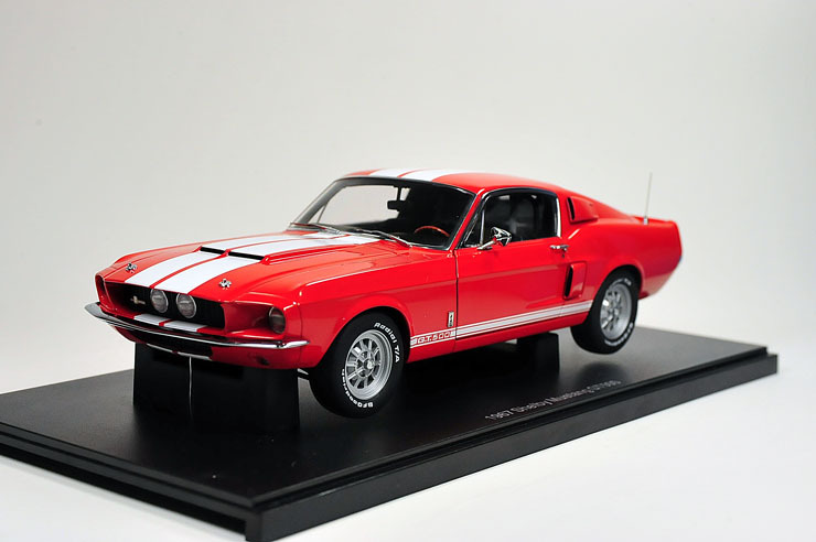 Aotuo FORD 1967 shelby mustang gt500 red(China (Mainland))