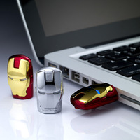 in stock !!! 32GB 16GB iron man model USB 2.0 Enough Memory Stick Flash pen Drive Flawless Avengers LED Flash Drive Stick Pen