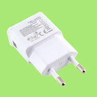 Genuine Original USB EU AC Wall Charger Plug Adapter For Samsung Galaxy S S2 S3 S4 Note 2 I9000 I9100 I9220 I9300 I9500 N7100