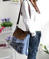 Free shipping 2013 new summer shoulder canvas bag for women vintage women's cross-body handbag casual messenger bag