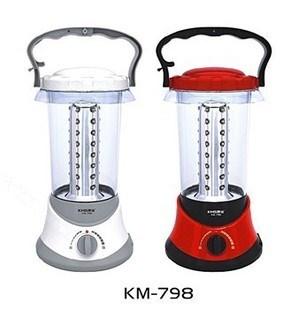 Km-798 lantern led rechargeable night market lighting lamp portable usb lamp emergency light tent camping light