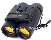 High-powered binoculars Portable mini binoculars Night vision Focusing telescope Mini binoculars 30x60 red blue film