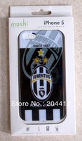 Juventus FC Soccer Cell Phone Hard Case Cover for Apple iPhone 5 With Packing new