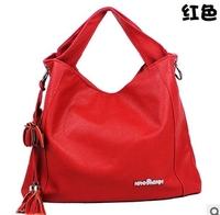 Free Shipping 2013 New Hot Popular Tassel Handbag Fashion PU Leather Designers Brand Women's Shoulder bag Wholesale