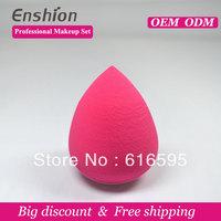Enshion Pro Beauty Flawless Soft  blender sponge powder makeup make up artist with Hydrophilic polyurethane material 2pcs/lot