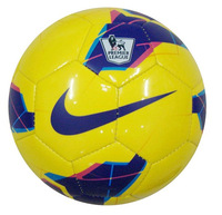 Yellow the students training game 5 football soccer ball Send a pump