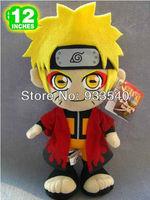 12inch Anime Naruto Uzumaki Plush Toy Doll,1pcs