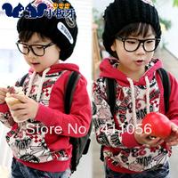 2013 autumn children's clothing clouds male child big boy baby sweatshirt child outerwear 4954