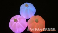 Mix $14 Free shipping Gift Halloween pumpkins colorful small night lights advertising promotional gifts wholesale