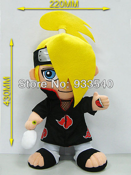 17inch 43cm Anime Naruto Deidara Plush Toy Doll,1pcs