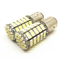 Auto high power LED brake,down lights,turn,rear fog / 1157 plugs, double contacts, high and low bayonet, 127LED light beads