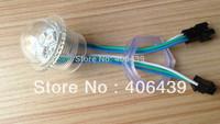 Promotion!!!WS2811 LED Pixel Point Light diameter 26mm,3pcs 5050SMD LEDs WS2811 IC,DC12V,Waterproof IP67,WS2811 LED Pixel Module