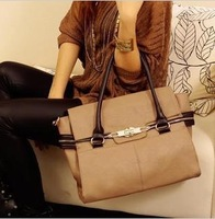 Free Shipping 2013 New Korean style messenger bag Handbag Fashion PU Leather Designers Brand Women's Shoulder bag Wholesale 0080