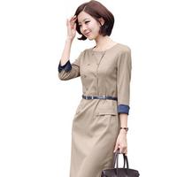 2014 new fashion plus size women's elegant women's one-piece dress slim one-piece dress costumes one-piece dress  free shipping