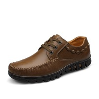 2013 genuine leather the tide of leather first layer of cowhide Sneakers casual shoes  24.5cm-28cm size