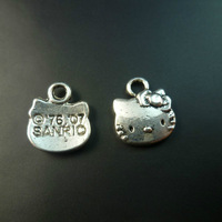 hello kitty  Charms Assorted  30pcs/lot Alloy  Antique Pendants jewelry finding Fit crafts  C0080